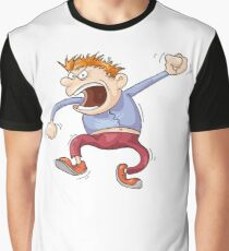 Angry Man Graphic T-Shirt