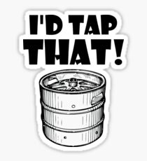 I'd tap that keg Sticker