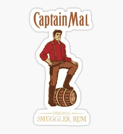 Smuggler Rum Sticker