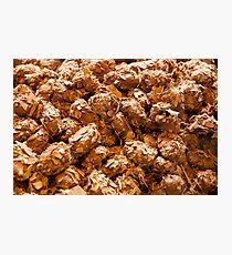 Chocolate truffles Photographic Print