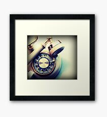 past call Framed Print