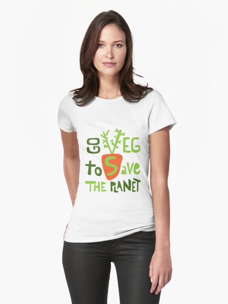 Go veg to save the planet by tashtee