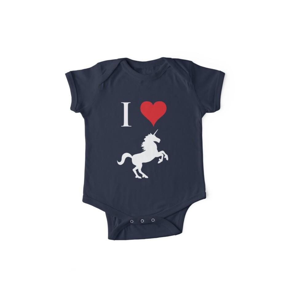 I Love Unicorns by jezkemp