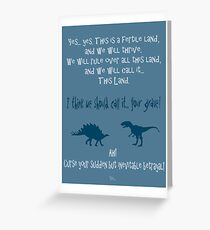 curse your sudden but inevitable betrayal, firefly, blue Greeting Card