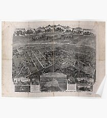 Panoramic Maps National Prohibition Park Westerleigh borough of Richmond Staten Island New York City Poster