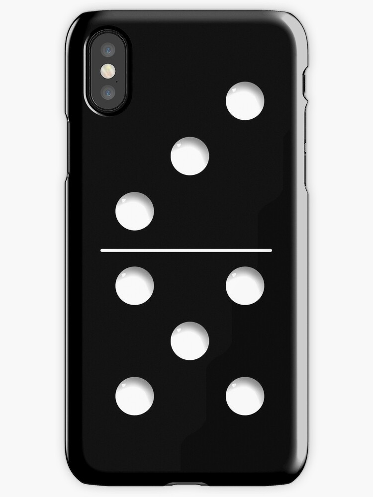 redbubble iphone cases quot domino quot iphone cases amp covers by abinning redbubble 12847