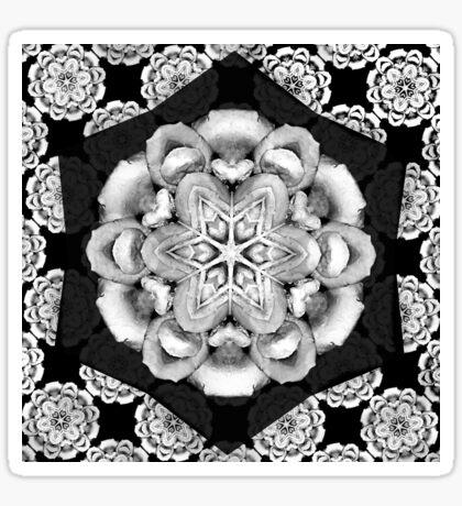 old fashioned lace pattern  Sticker