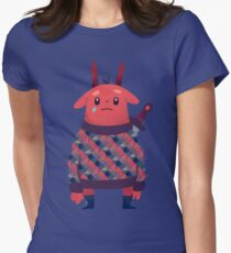 Sword Bunny Women's Fitted T-Shirt