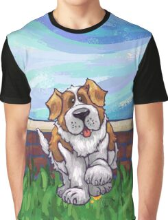 Animal Parade St. Bernard Graphic T-Shirt