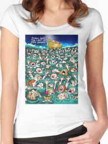 NOAH'S LARK  Women's Fitted Scoop T-Shirt