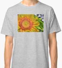 Mom and Baby matching Sunflower QTees Classic T-Shirt
