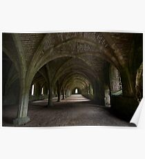 Fountains Abbey - Yorkshire (28-15) Poster
