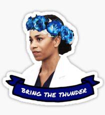Bring the Thunder Sticker