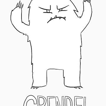 Grendel Doodle by sherbear