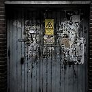 Old door. by cavan michaelides