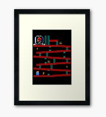 Metroid Kong Framed Print