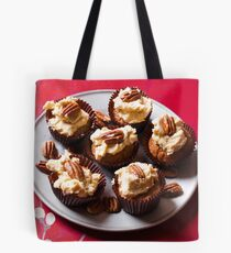 Coffee and pecan cupcakes Tote Bag