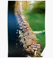 Laity Lodge Frio River Dam Poster