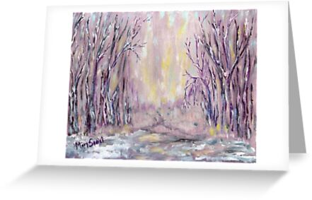 DAZZLING WINTER  by Mary Sedici
