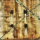 Rusty Old Wall by Amy E. McCormick