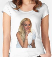 Lindsayyy Women's Fitted Scoop T-Shirt
