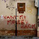 Money Back, Wall in Venice by Barbara Wyeth