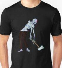Zombie Axe Dragger!! Unisex T-Shirt