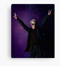 Doctor Disco (12th Doctor) Canvas Print