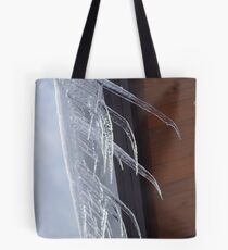 Bent Icicles Tote Bag