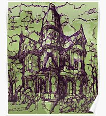 Hotel California - Haunted House Poster