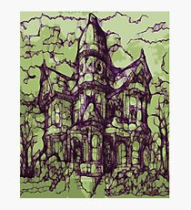 Hotel California - Haunted House Photographic Print