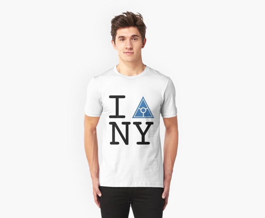 Illuminati Tshirt from Secret World White by PickleWarrior