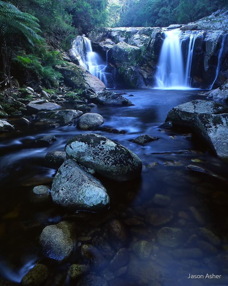 """Halls Falls"" ∞ The Blue Tier, Tasmania - Australia by Jason Asher"