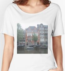 Picturesque Netherlands Cottage Women's Relaxed Fit T-Shirt