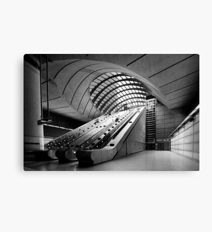 Canary Wharf DLR Station Canvas Print