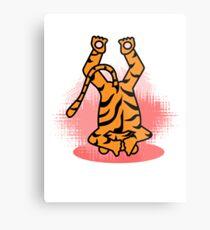 Yogic Tiger Metal Print