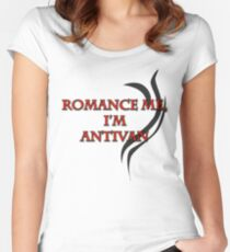 Romance me I'm Antivan Women's Fitted Scoop T-Shirt