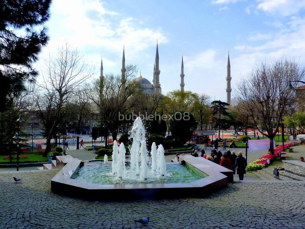 Istanbul: Minarets in the background by bubblehex08