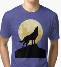 She-Wolf Tri-blend T-Shirt