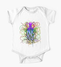 Octopus Psychedelic Luminescence Kids Clothes