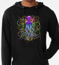 Octopus Psychedelische Lumineszenz Leichter Hoodie