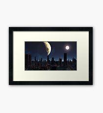 Miners Moon Framed Print