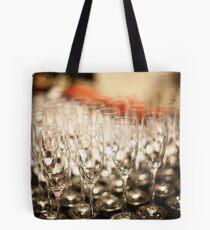 Champagne Glasses Tote Bag