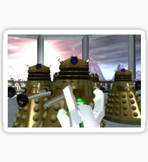 Daleks - Oops! Sticker