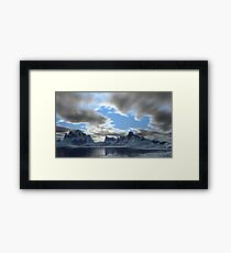 Storm Clouds Passing Framed Print
