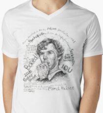 SHERLOCK Men's V-Neck T-Shirt