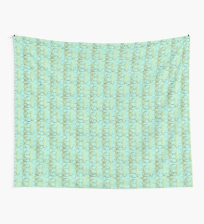 Hexagold Wall Tapestry
