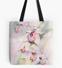 Pale Orchids Tote Bag