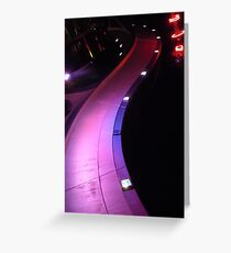 The Road Less Traveled by Humans Greeting Card