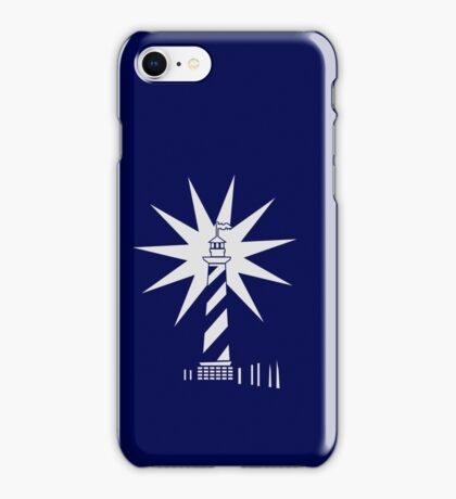 Lighthouse in the dark VRS2 iPhone Case/Skin